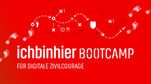 Virtuelles #ichbinhier Bootcamp in Kooperation mit dem Bundesverein der Internationalen Jugendgemeinschaftsdienste [intern]